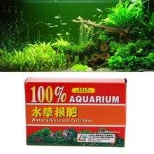 Nicrew 36 шт./кор. водяное растение для аквариума корни таблетки для удобрения для аквариума водных цилиндр Water Plant удобрения