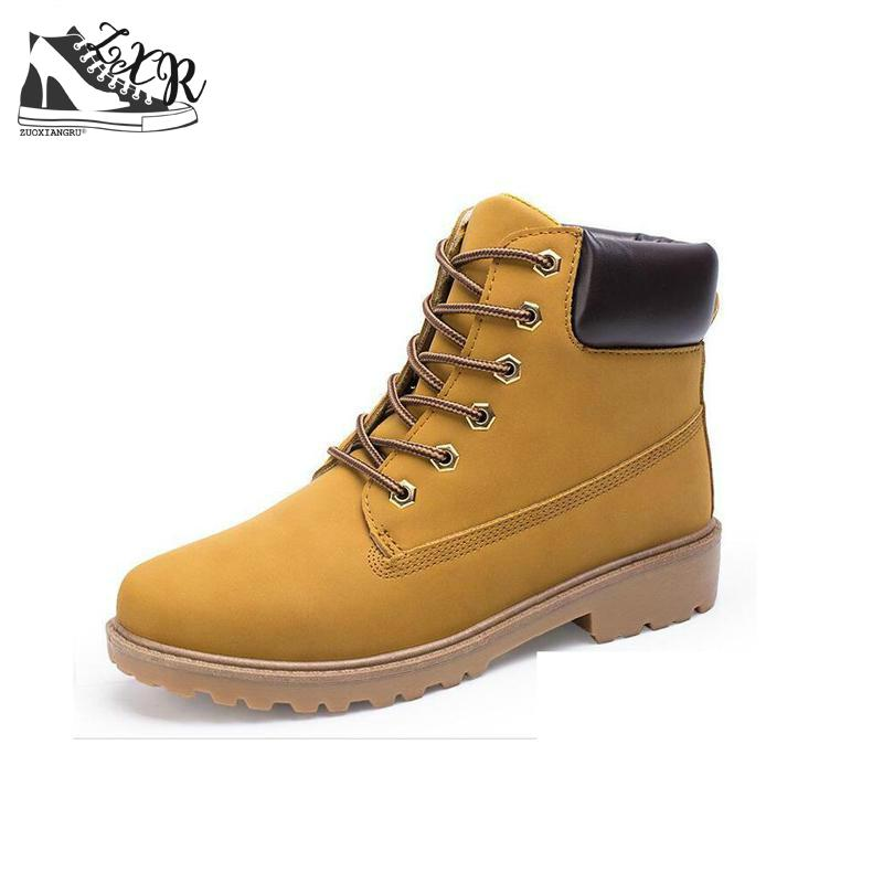 Zuoxiangru New Lace-up Autumn/Winter Warm High Shoes Man Comfortable - Men's Shoes