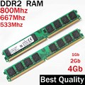 1G 2G 4G DDR2 800 667 533 Mhz/RAM DDR2 2 Gb 800 Mhz/Para AMD o Intel memoria 1 2 4 gb PC2-6400 ddr2 4 gb ddr 800*2