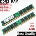 1G 2G 4G DDR2 800 667 533 Mhz memoria RAM DDR2 2 Gb 800 Mhz/1 2 4 gb ddr2 4 gb 800 ddr 2 memoria PC2-6400 Ddr2 de memoria RAM