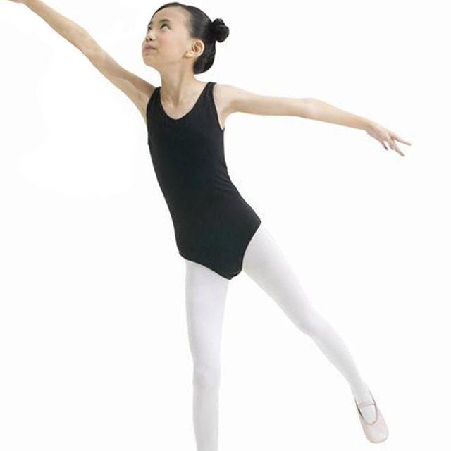 3127fb24b854 Kids Dance Gymnastics Leotard Skirt Tutu Stretch Bodysuit Girls Top Tshirt