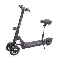 3 rodas scooter elétrico com assento scooters elétricos 8 Polegada 500 w 48 v dobrável skate elétrico para adultos|Scooters elétricos| |  -