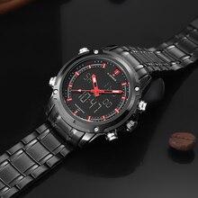 Top Luxury Brand NAVIFORCE Men Waterproof Sports Military Watches Men's Quartz Analog Digital Wrist Watch relogio masculino