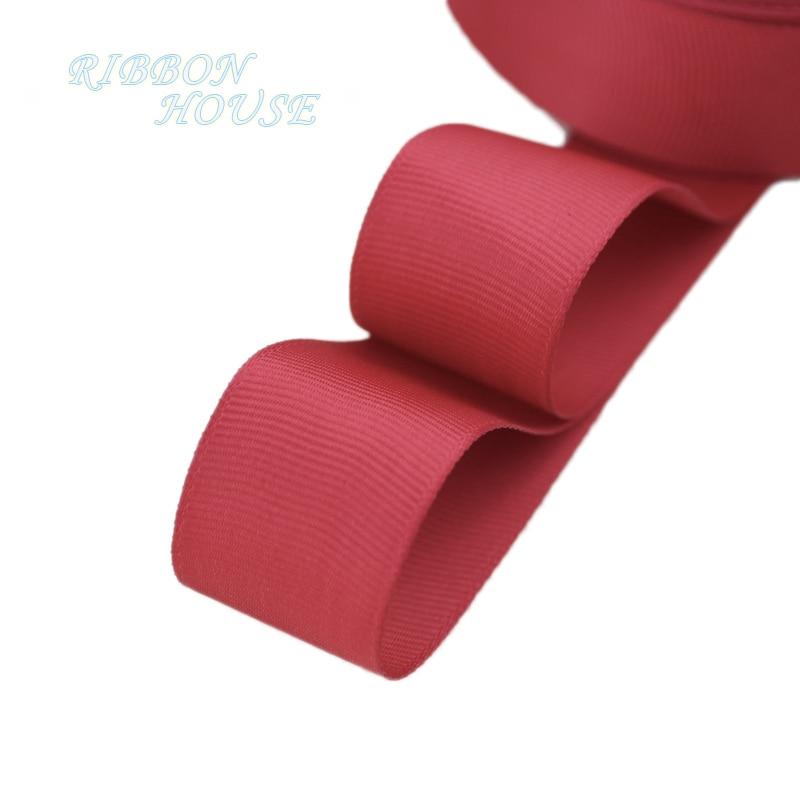 (5 м/лот) 1 «(25 мм) цвет красного вина корсажная лента подарочная упаковка оптом Рождество украшение ленты