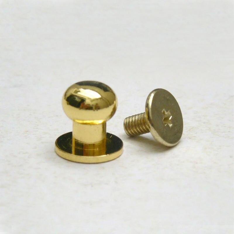 10mm Metal Mashroom Studs, Rivet Studs, Purse Feet Rivets