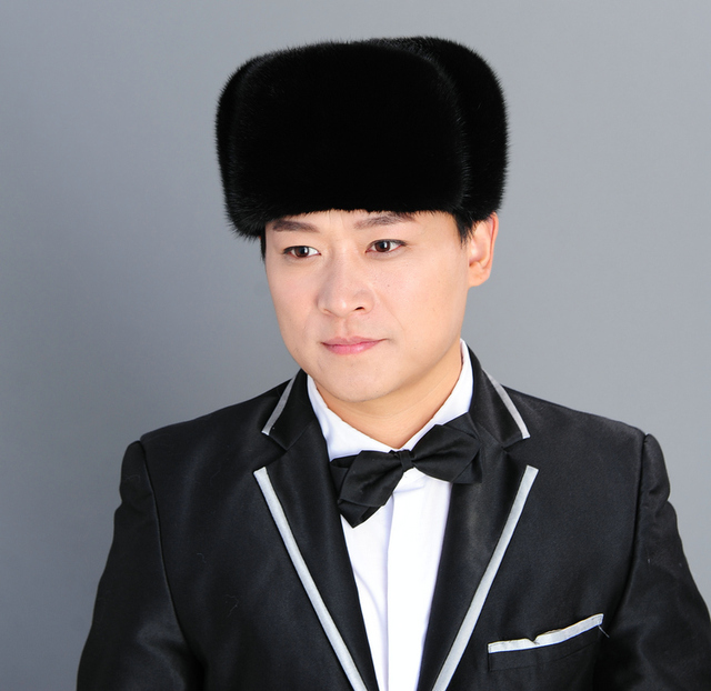 New Hot Sale Han Edition Real Mink Fur Hats For Men Fashion Northeast High-Grade Whole Skin Black Brown Super Warm Casual Caps