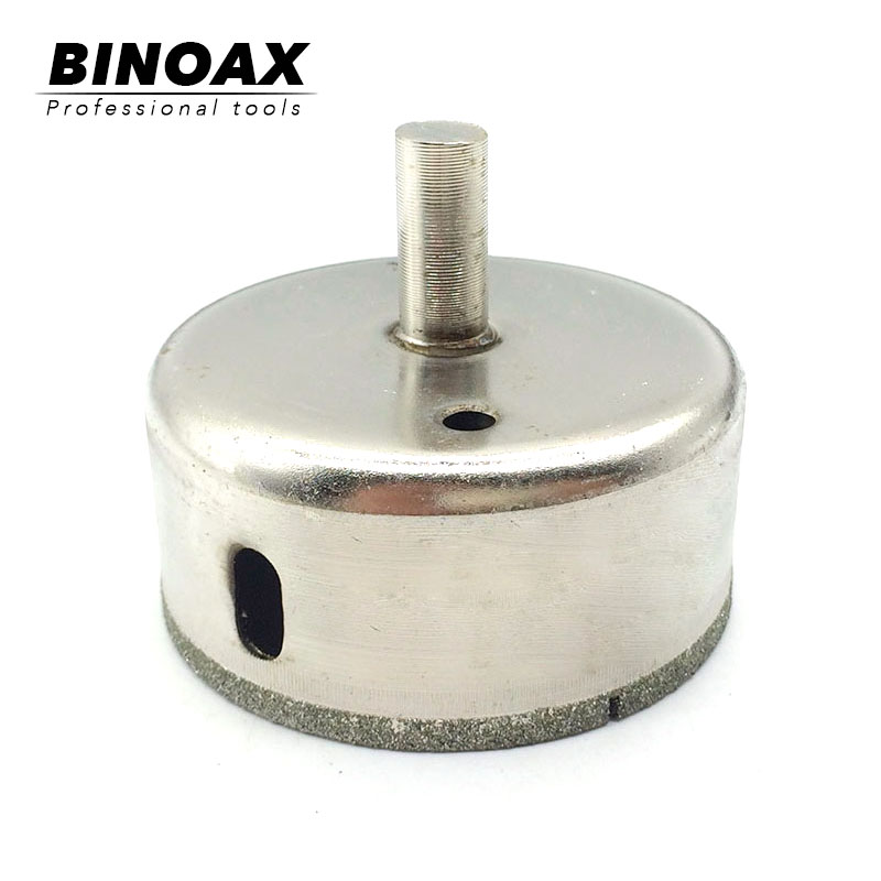 BINOAX 70mm Diamond Coated Drill Drills Bit Hole Saw Core Marble Glass Granite Tools