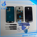 1 piece free shipping black white blue replacement repair accessories full housing cover for samsung galaxy s4 mini i9190 i9195