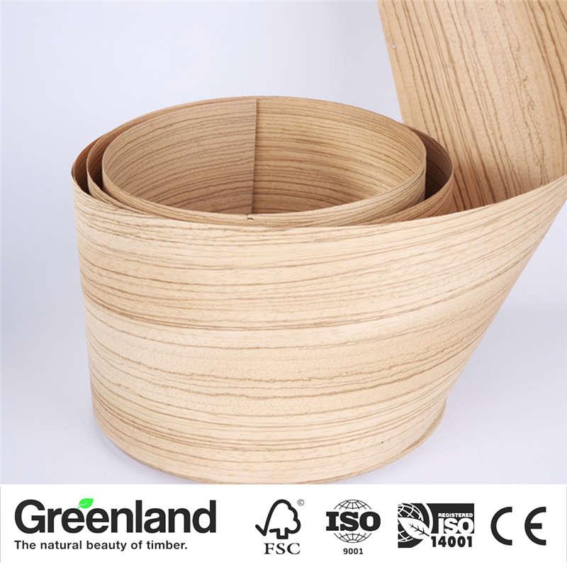 Zebrano (Q.C) Wood Veneers Bedroom Chair Table Skin Size 250x15 Cm Table Veneer Flooring DIY Furniture Natural Material