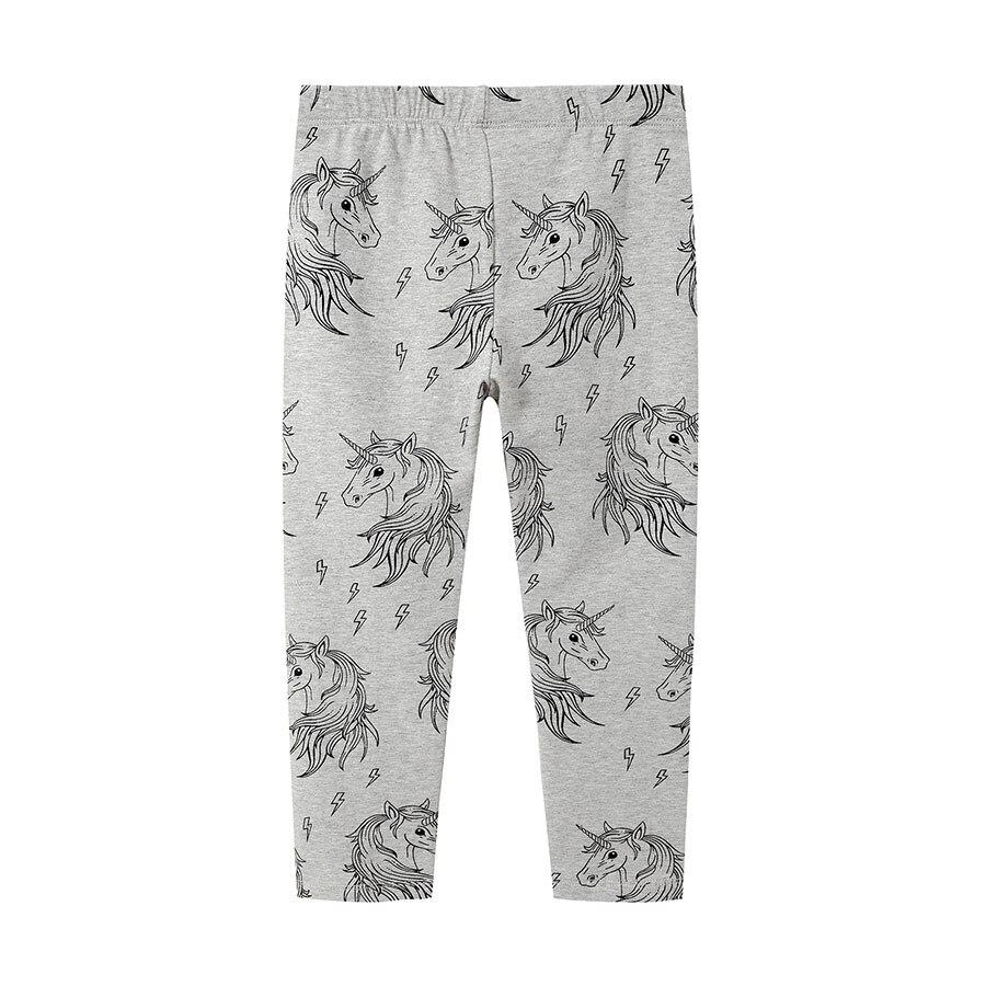 f229b453e Leggins para bebé Niña Pantalones para Niñas Ropa estampado unicornio otoño  primavera skinny cintura elástica niños ropa Niña Pantalones