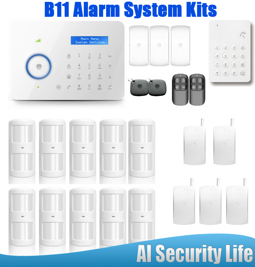 Chuangkesafe B11 GSM/PSTN Home Anti-theft Alarm System App Control Wireless Intelligence Keypad LCD Display Good Use