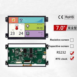 7.0 Inch A Commercial Serial Screen Without Touch 800*480 1G Memory Configuration / SD / RTC/5-26V