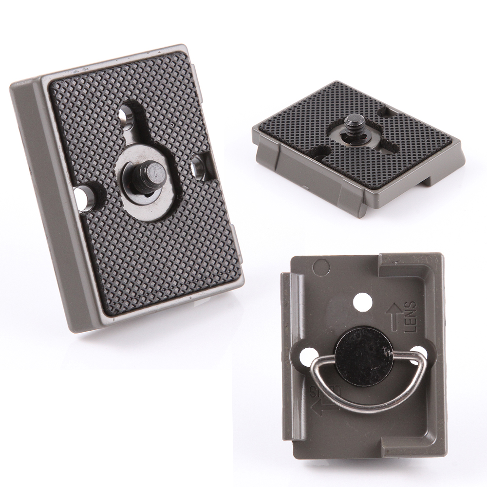 Camera Tripod Quick Release Plate for Manfrotto 200PL-14 484RC2 486RC2 323 RC2 площадка manfrotto 200pl 14 38