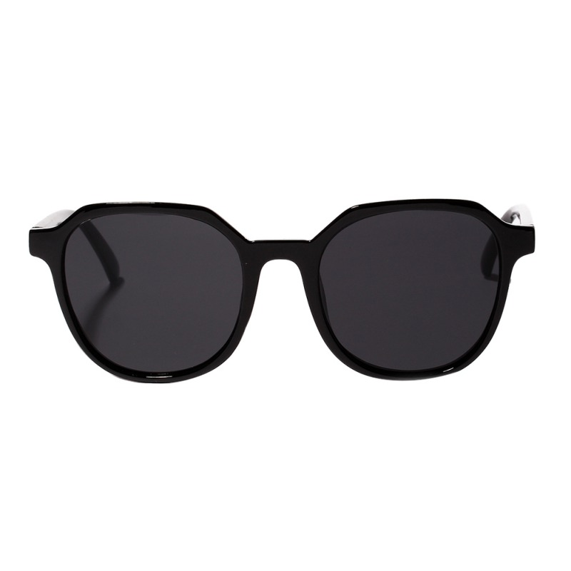 Big Frame PC Beach Sunglasses Retro Elegance Wild Clear Colored Classic Glasses Women Gafas De Sol Mujer 2019 New Arrival