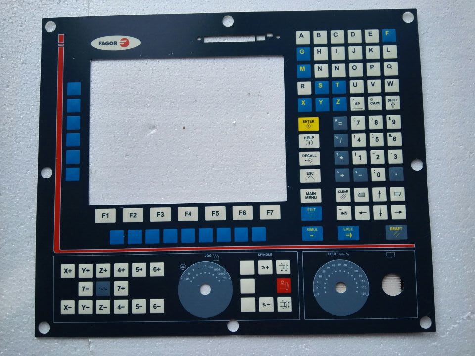 JTGK 750 Touch Glass Panel for Machine Panel repair do it yourself New Have in stock