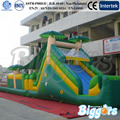Inflatable Biggors Outdoor Jungle Theme  Inflatable Obstacle Course  Shipping by Sea