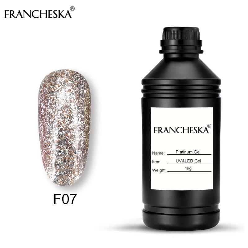 gel nail polish 1KG glitter platinum gel gellak bing semipermanente soak off unha Long-lasting uv lakiery hybrydowe oje Lacquer цена