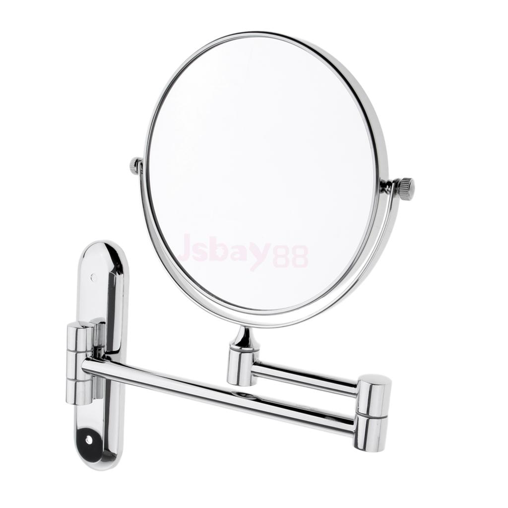Exceptionnel Wall Mount Makeup Mirror Two Side Vanity Extendable Bathroom Mirror In  Makeup Mirrors From Beauty U0026 Health On Aliexpress.com | Alibaba Group