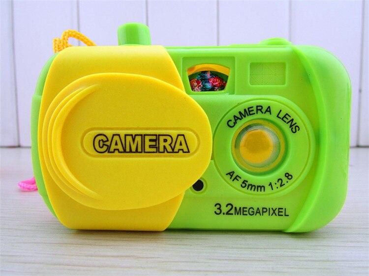 Children's Toys Simulation Cartoon Children Projection Camera Baby Educational Digital Plastic Girls