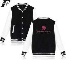 LUCKYFRIDAYF Tomorrowland Baseball Jacket College Baseball Jackets Woman Autumn Long Sleeve Fashion Brand Clothing Casual Jacket