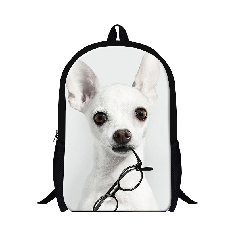 Cute Pet Dog School Backpacks For Children Lightweight Bookbags Animal Printed Girls Schoobag Bagpack Stylish Mochilas Back Pack Luggage & Bags School Bags