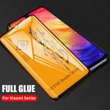 For Xiaomi Pocophone F1 Mi 9 9T 8 A2 Lite Mix 3 Redmi Note 7 6 5 K20 Pro Screen Protector Film 6D Full Glue Cover Tempered Glass