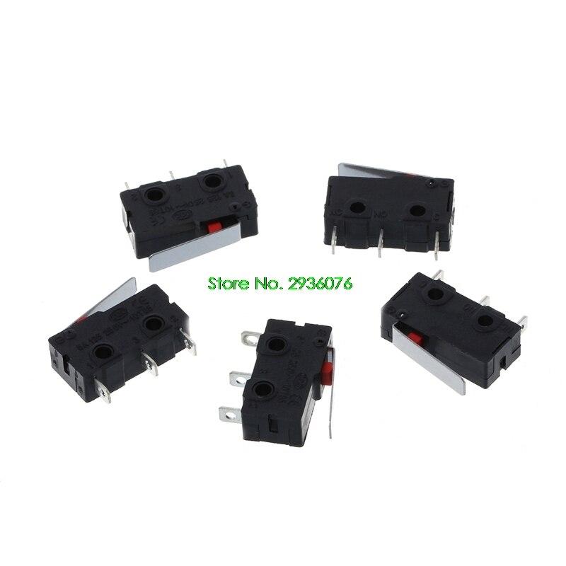 2018 новый 5 шт. путешествия концевой выключатель 3 Pin N/O N/C 5A 250VAC KW11-3Z микро-переключатель прямая доставка Поддержка