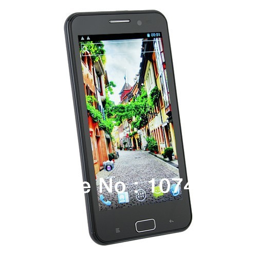 Free shipping MTK6577 Dual core Star B93M 4.5 inch Capacitive screen 960*540 Android 4.0 Wifi GPS Smart cell phone black white