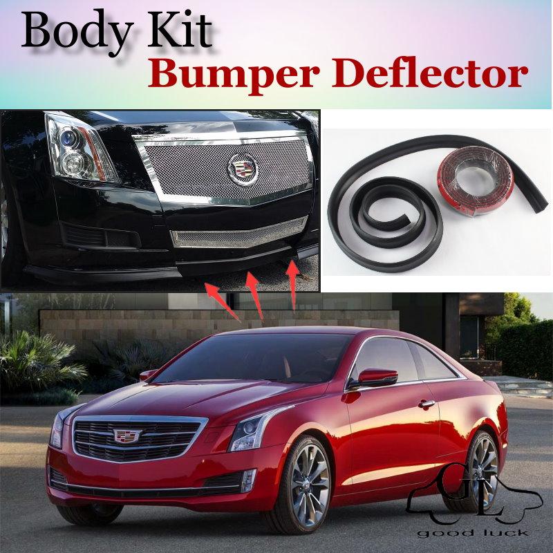 Bumper Lip Deflector Lips For Cadillac Ats 2012 2015 Front Spoiler