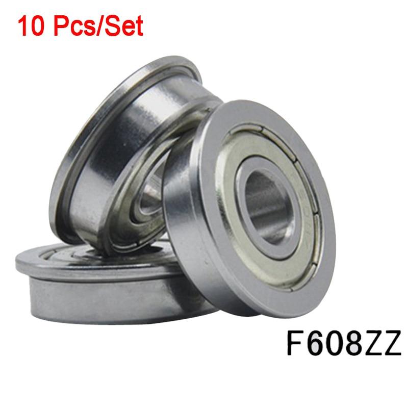 4 PCS 10x19x7 mm Metal Shielded PRECISION Ball Bearing Set 63800z 63800ZZ