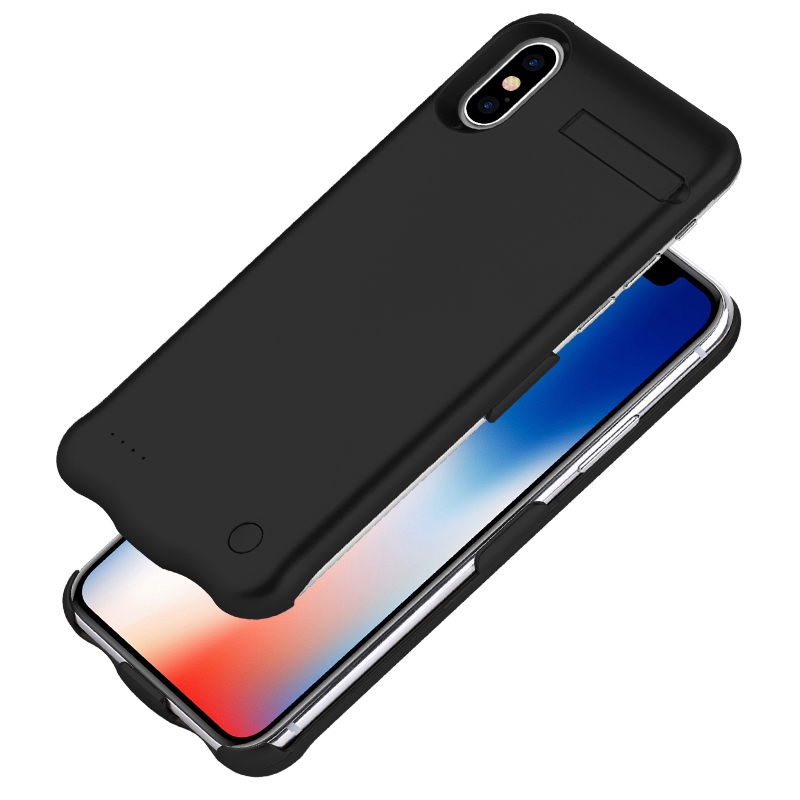 5200mAh Rechargeable Power Bank Case For iPhone X External Portable Phone Holder Battery Charger Case Backup Cover For iPhone X 5200mAh Rechargeable Power Bank Case For iPhone X External Portable Phone Holder Battery Charger Case Backup Cover For iPhone X