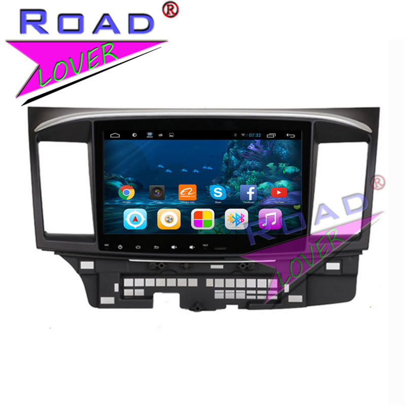 TOPNAVI Quad Core 2G+32GB 10.1Inch Android 6.0 Car PC System Media Center For Mitsubishi Lancer 2006-2012 Stereo GPS Navigation