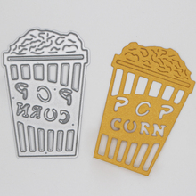 Pop corn Metal Cutting Dies  Scrapbooking Album Decoration Embossing Paper Card Craft 41*62 mm