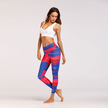High Waist Elastic Push Up Women Fitness Leggings