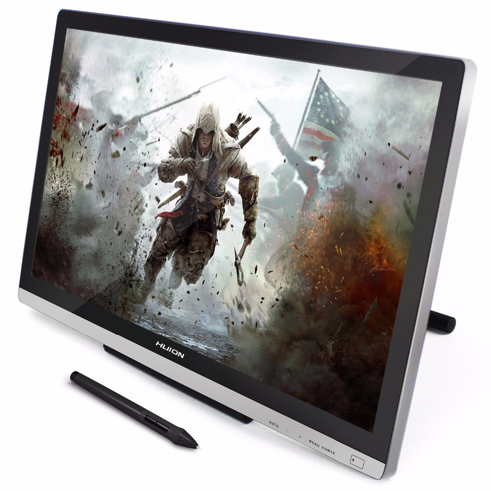 Huion 21.5 inch IPS HD Resolution Pen Display Graphics Tablet Monitor - GT-220 V2 with free gifts xp pen artist22e fhd ips pen display monitor graphics drawing tablet with 16 express keys