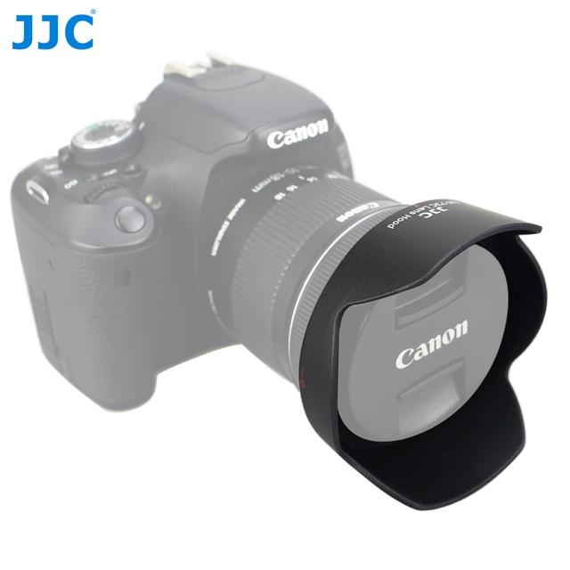 JJC LH 73C עדשת הוד הפיך פרח צל עבור Canon EF S 10 18mm f/4.5 5.6 הוא STM עדשה מחליף CANON EW 73C