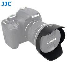 JJC LH 73C Lens Hood Reversibile Fiore Ombra Per Canon EF S 10 18mm f/4.5 5.6 IS STM Lens Sostituisce CANON EW 73C
