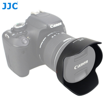 JJC LH 73C Lens Hood Reversible Flower Shade For Canon EF S 10 18mm f/4.5 5.6 IS STM Lens Replaces CANON EW 73C