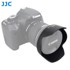 Image 1 - JJC LH 73C Lens Hood Reversible Flower Shade For Canon EF S 10 18mm f/4.5 5.6 IS STM Lens Replaces CANON EW 73C