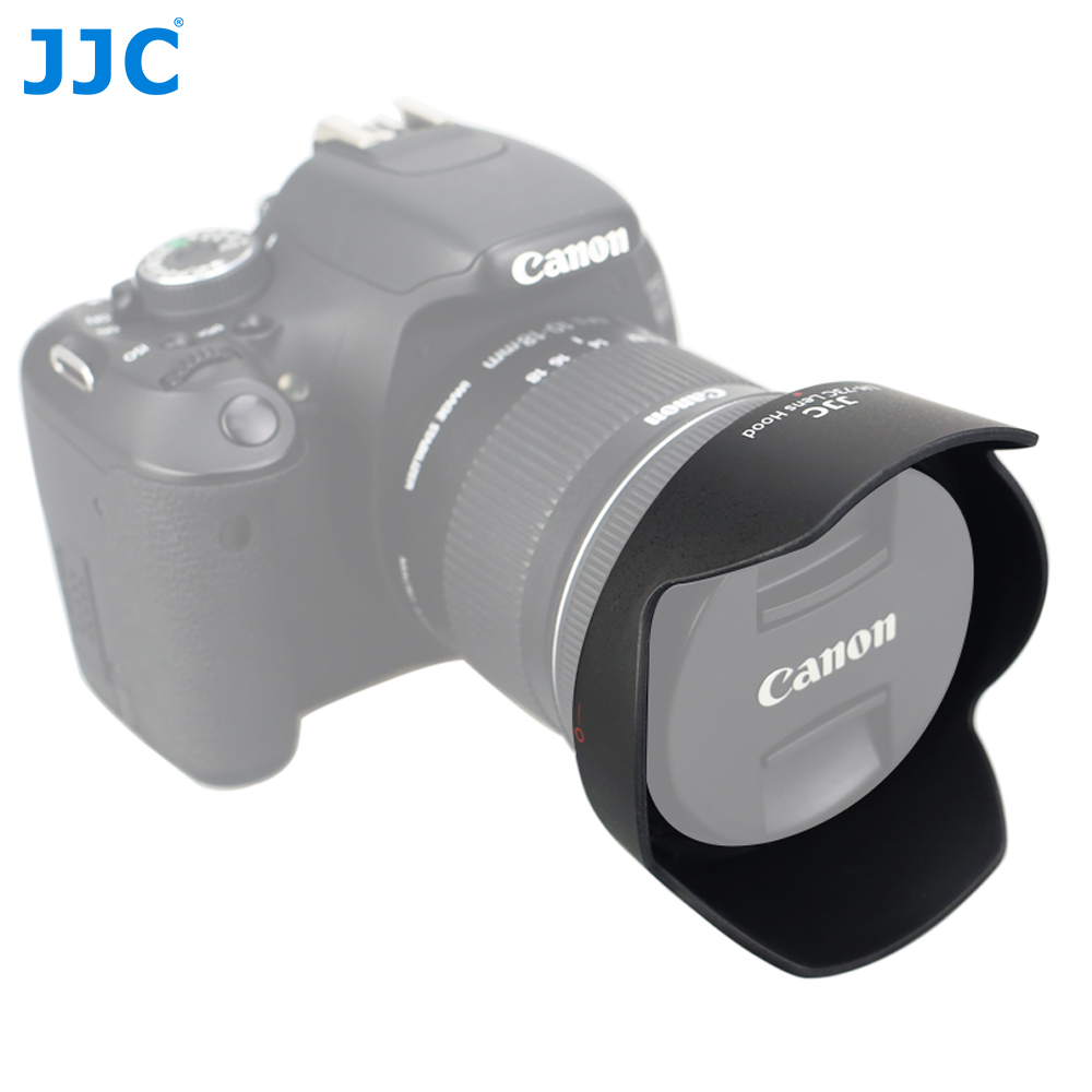 JJC LH-<font><b>73C</b></font> <font><b>Lens</b></font> <font><b>Hood</b></font> Reversible Flower Shade For Canon EF-S 10-18mm f/4.5-5.6 IS STM <font><b>Lens</b></font> Replaces CANON <font><b>EW</b></font>-<font><b>73C</b></font> image