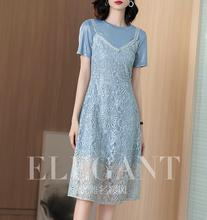 two-piece vestido estilo em
