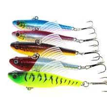 5PCS Pencil Fishing Lures 7cm 18g Hard Baits Artificial Make Bass Crankbait Isca Artificial Bait Wobbler