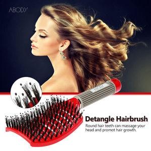Image 2 - Originele Abody Haar Borstel Magie Haar Kam Detangling Hair Brush Ontwarren Luizen Massage Kam Vrouwen Wirwar Kapsalon