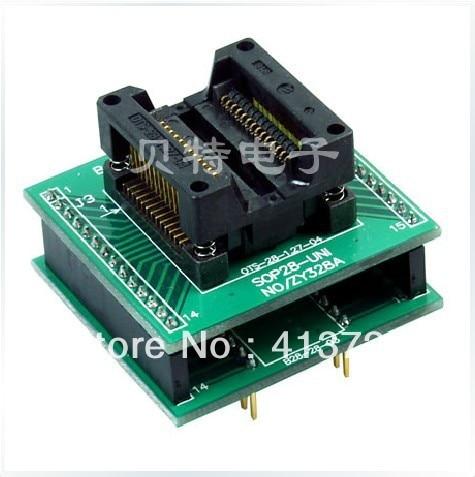 Ucos SmartPRO X5/X8 transfer SOP28 ZY328A test socket programming adapters cost performance 637 full ceramic bearing 7 26 9mm zirconia zro2 ball bearing