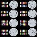 OPHIR Set13 200 Designs Airbrush Nail Art Stencils 20PCS Airbrush Nail Template Sheets Kit Air Brush Paint Nail Tools _JFH13