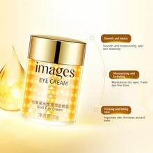 Gold Eye Cream Collagen Hydra Moisturizing Eye Gel Remove Eye Bag Anti Puffiness Dark Circles