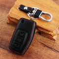 New arrived  car remote key leather cover for Ford Focus 2 sedan hatchback, car accessories