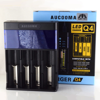 Newest Batttery Charger Q4 Q2 4 Slots And 2 Slots Charger For AA AAA Ni MH