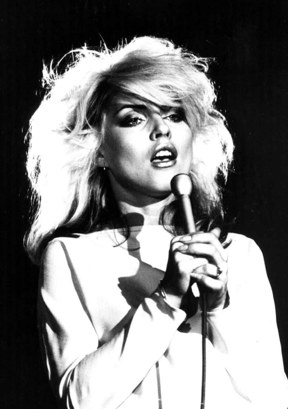 BLONDIE DEBBIE HARRY Silk Poster Wall Decor Room Painting 24X36Inch