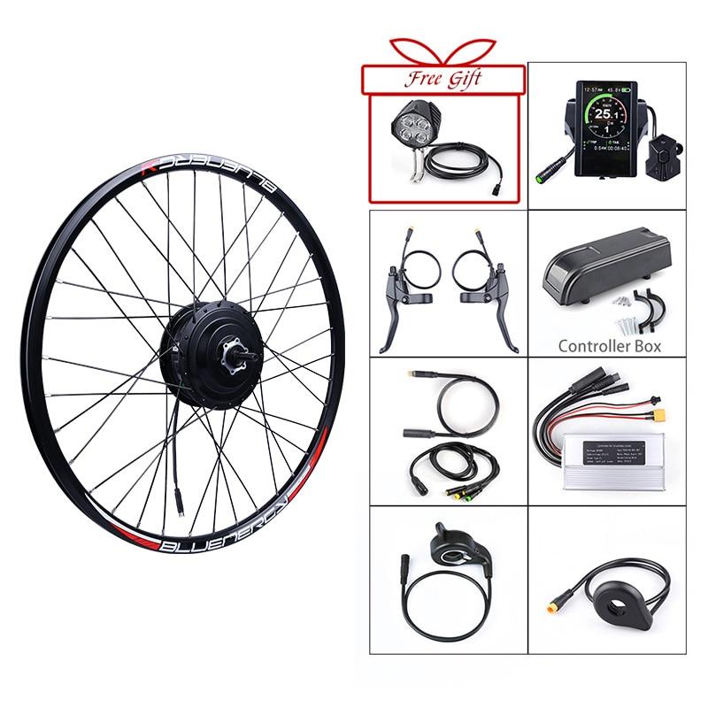 Bafang 36V 250W Ebike Motor Wheel Electric Bike Conversion Kit 20/26/27.5/700C Inch 250W Bicycle Brushless Gear Rear Hub Motor